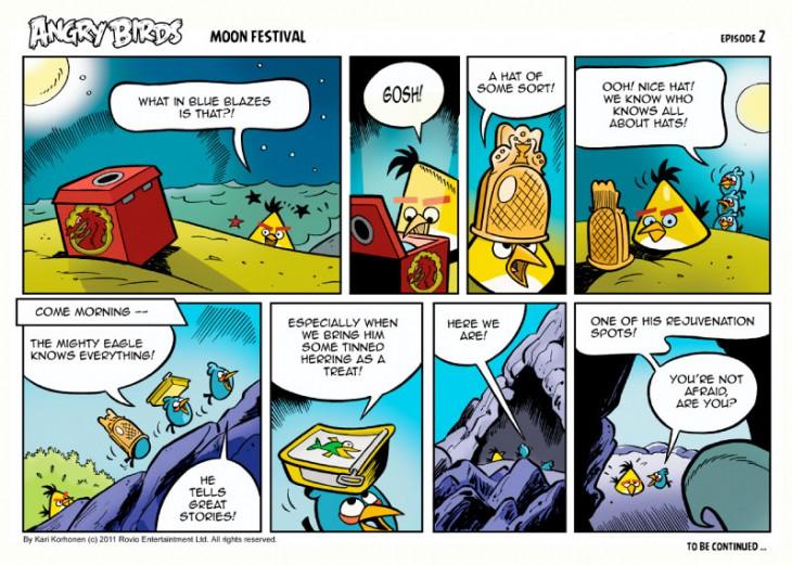 Комикс Angry Birds: Moon Festival - Часть 2