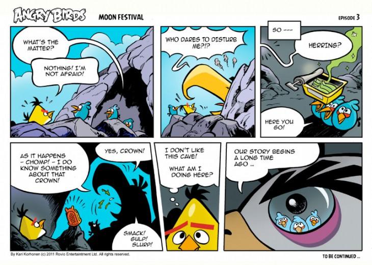 Комикс Angry Birds: Moon Festival - Часть 3