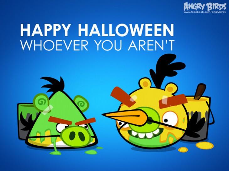 """Facebook-карточка """"Кем бы ты ни был - Хорошего Хэллоуина тебе!"""""""