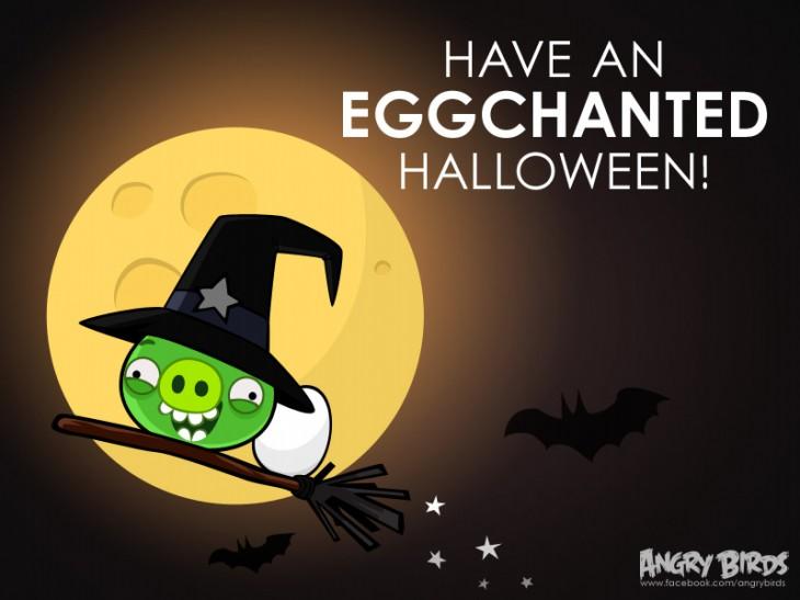 "Facebook-карточка ""Яичного тебе Хэллоуина"""
