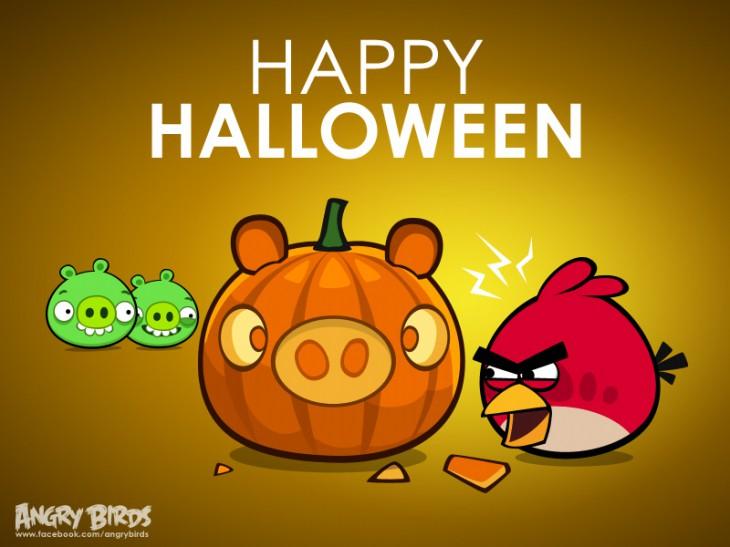 "Facebook-карточка ""Хорошего Хэллоуина"""