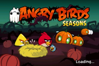 Angry Birds Seasons Ham`o'ween - Заставка