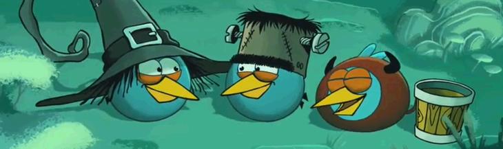 Angry Birds Halloween 2 - Видеоаннонс