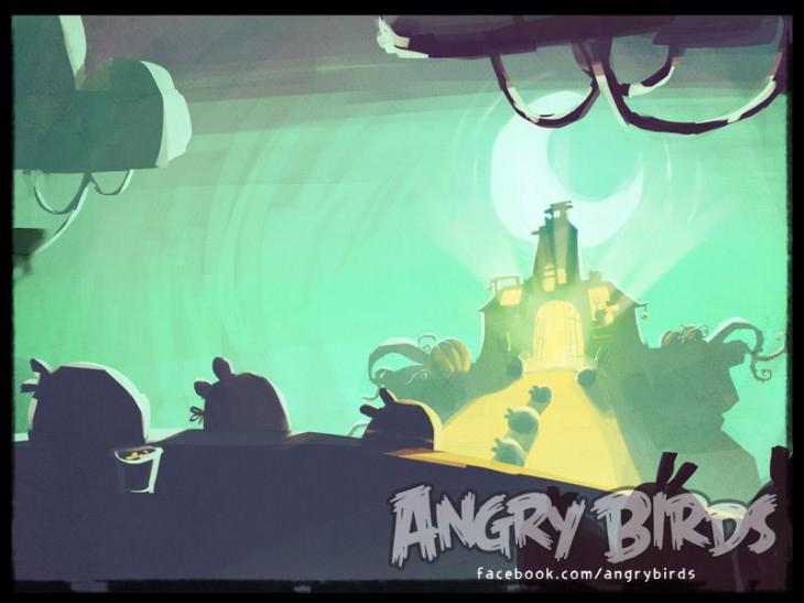 Angry Birds Halloween 2 Teaser Facebook Card