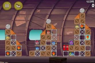 Angry Birds Rio Smugglers' Plane Уровень 11-1