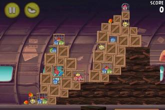 Angry Birds Rio Smugglers' Plane Уровень 11-2