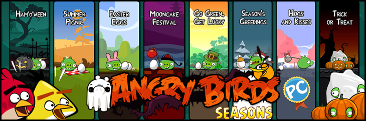 Angry Birds Seasons PC уже здесь!