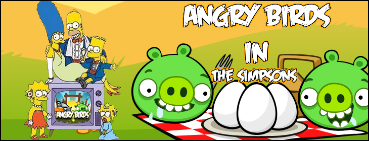 Angry Birds в The Simpsons