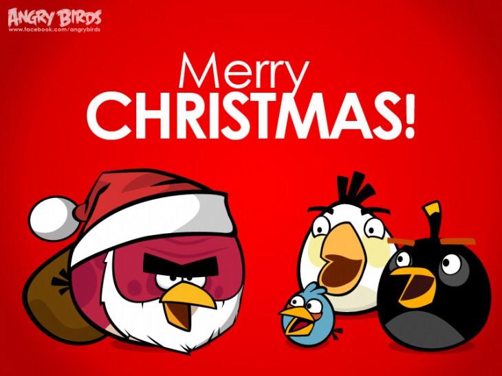 """Facebook карточка """"Счастливого Рождества!"""""""