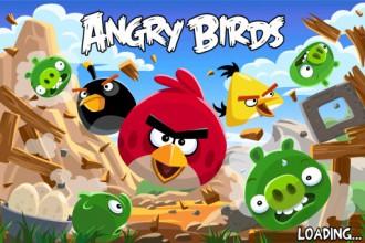 Angry Birds Birdday Party - Новый экран загрузки