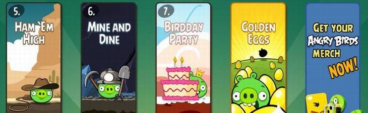 Angry Birds Birdday Party обновилась на PC и Mac