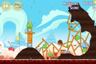 Angry Birds Birdday Party - Уровень 18-1
