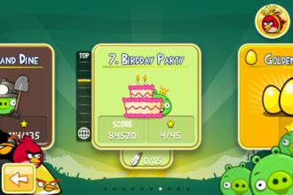 Angry Birds Birdday Party - Выбор эпизода