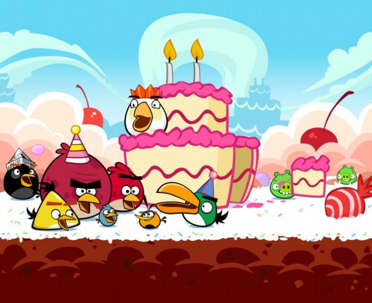Юбилейный эпизод Angry Birds Happy BirdDay