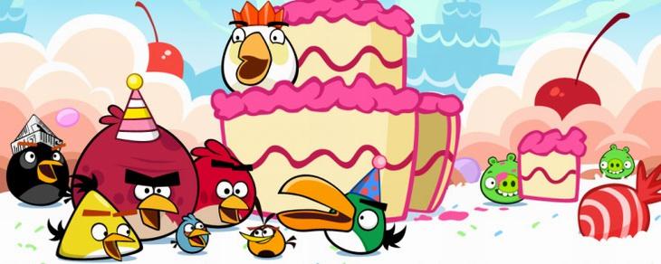 Аннонс юбилейного эпизода Angry Birds Happy BirdDay