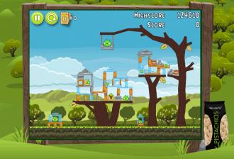 Angry Birds Pistachios Уровень 1-1