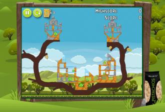 Angry Birds Pistachios Уровень 1-2