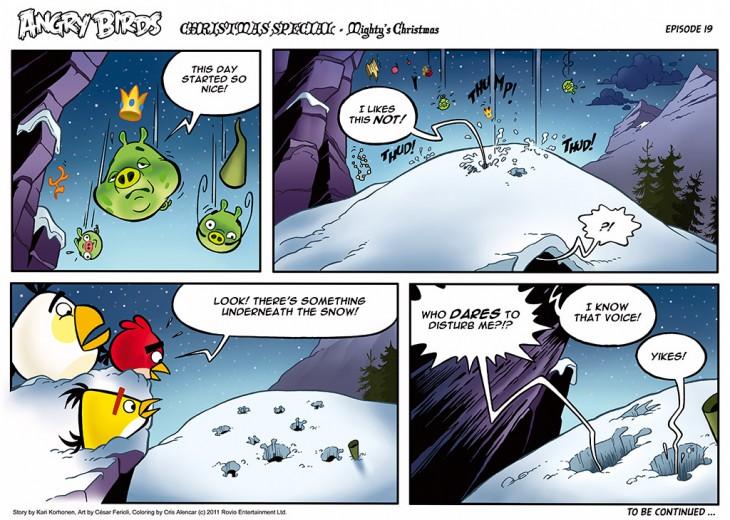 Комикс Angry Birds: The Birds' Christmas - Часть 19