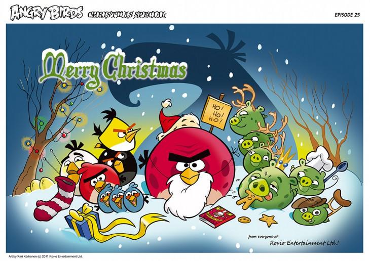 Комикс Angry Birds: The Birds' Christmas - Часть 25