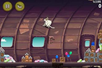 Angry Birds Rio Smugglers' Plane Бой с Боссом