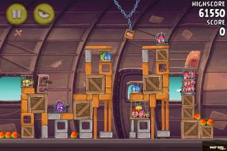 Angry Birds Rio Smugglers' Plane уровень 12-1