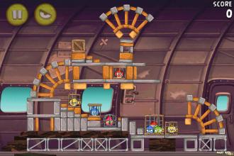Angry Birds Rio Smugglers' Plane уровень 12-2