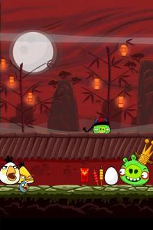 Обои Angry Birds Seasons Year of the Dragon на iPhone