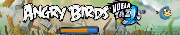 Онлайн мини-игра Angry Birds Vuela Tazos