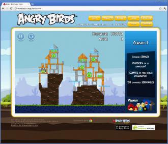 Angry Birds Vuela Tazos - Уровень 1
