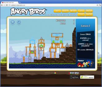 Angry Birds Vuela Tazos - Уровень 2