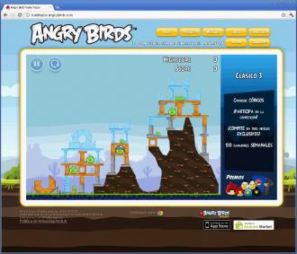 Angry Birds Vuela Tazos - Уровень 3