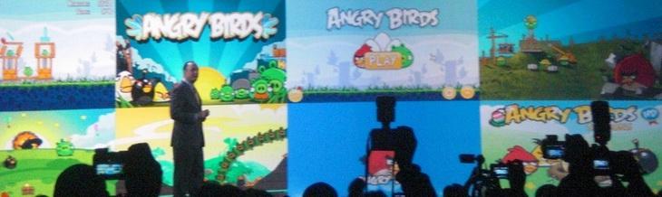 Angry Birds появятся в телевизорах Samsung Smart TV