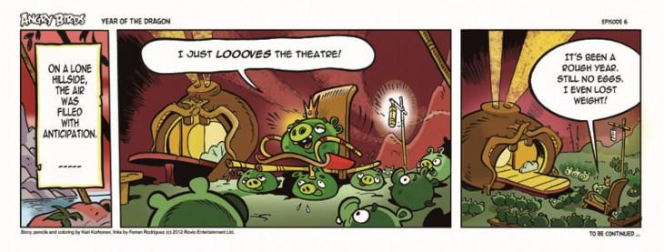 Комикс Angry Birds: Year of the Dragon - Часть 6
