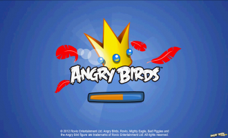 Angry Birds Facebook - Загрузка...