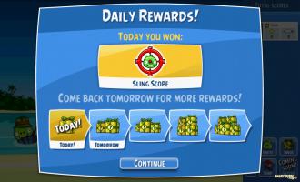 Angry Birds Facebook - Подарок дня