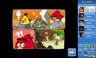 Angry Birds Facebook: Surf and Turf - Конец