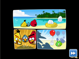 Angry Birds Facebook: Surf and Turf - Начало