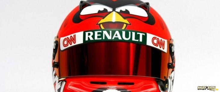 Шлем Angry Birds Формула 1 - анонс