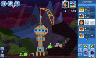 Angry Birds Facebook: Эпизод Surf & Turf - Уровень 31