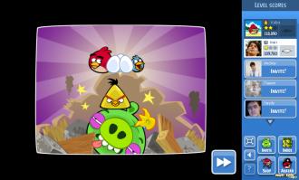 Angry Birds Facebook: Эпизод Surf & Turf - Победа!
