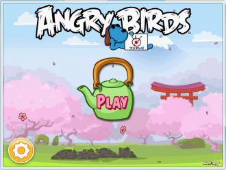 Angry Birds FujiTV - Главное меню