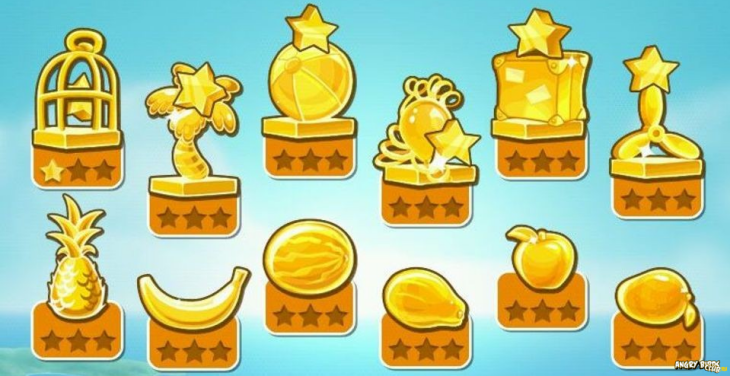 Angry Birds Rio - Комната Трофеев (Trophy Room)