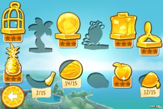 Angry Birds Rio - Комната трофеев: Выбор уровня
