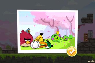 Angry Birds Seasons - Cherry Blossom - Победа!