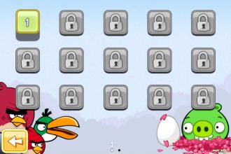 Angry Birds Seasons - Cherry Blossom - Выбор уровня