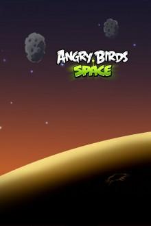 Angry Birds Space астероиды обои для iPhone