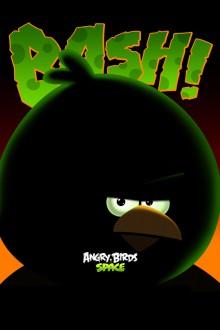 Angry Birds Space Большой Брат обои для iPhone