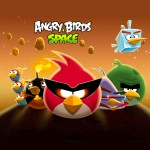 Angry Birds Space Стая обои для iPad