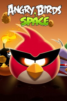 Angry Birds Space Стая обои для iPhone