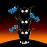 Angry Birds Space Синие птицы обои для iPad